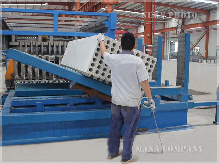 菱镁墙板生产线
