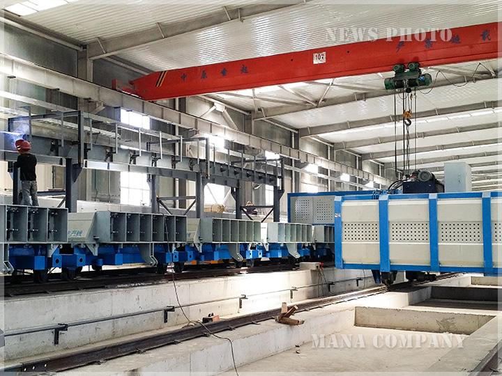 自动化墙板生产线