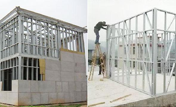 由于装配式钢结构建筑的标准化、工厂化、工业化要求,传统的砌块墙体建造湿作业、工序复杂、消耗大量人力,并不适用于装配化的安装工序。 对钢结构住宅而言,围护结构材料不仅应具有较好的保温隔热性能,还应具有较好的化学和物理稳定性能,满足隔声、防腐和防火等基本要求,同时为了提高施工效率与工业化相适应还应具有便于装配单位墙体容重小等特点。 钢结构装配式外墙类别主要有:单一材质外墙、现场组装复合外墙、工厂预制复合外墙三大类。 一、单一材质外墙 1.